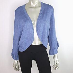 Lane Bryant Blue Cardigan Sweater Plus Size 22/24